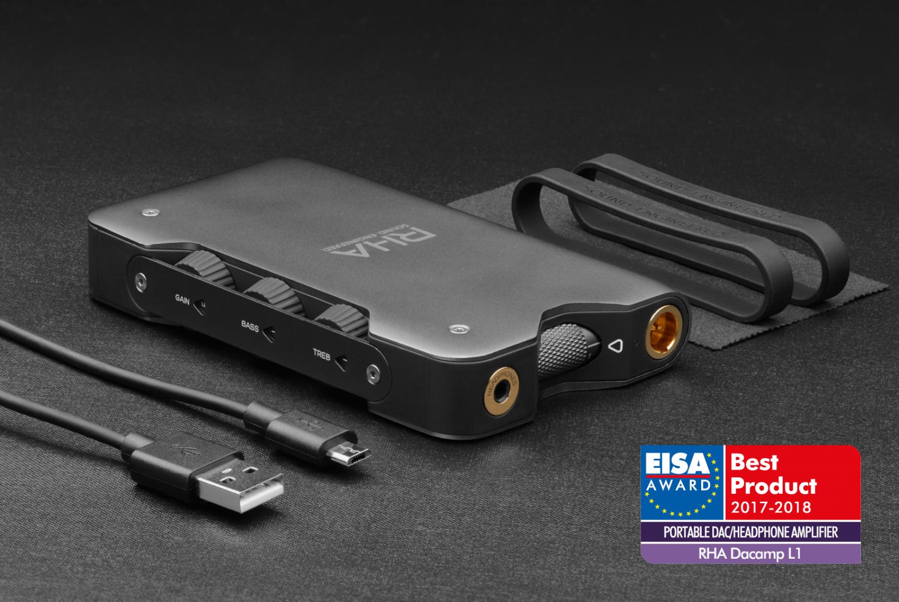 Blog Dacamp L1 Eisa Award Best Portable Dac Headphone Amplifier