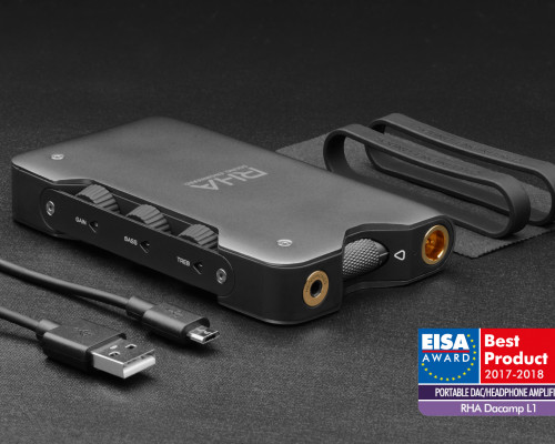 RHA Dacamp L1 honoured with EISA Award for best portable DAC/headphone amplifier