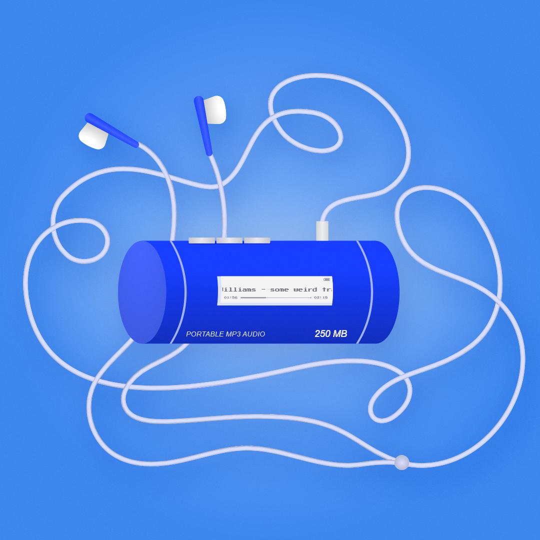 MP3 player illustration