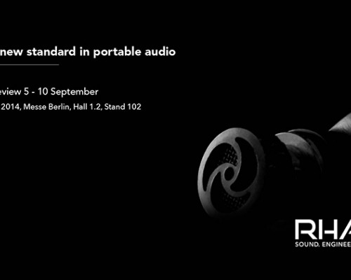 RHA T10i: A new standard in portable audio at IFA 2014