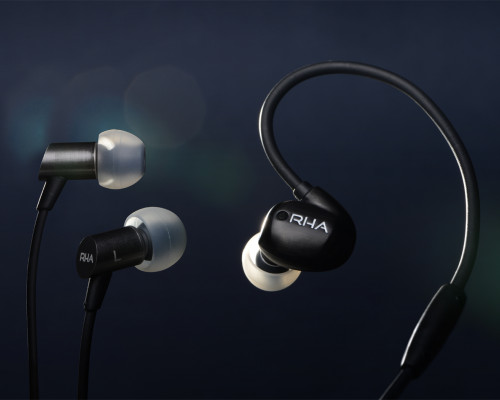 RHA T20i Black and S500i available on general sale from 1 April