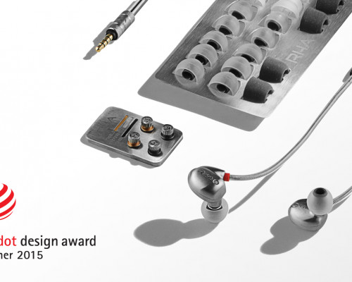 RHA T10i in-ear headphone wins prestigious Red Dot Award for Product Design. [RELEASE]
